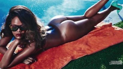 Felnőttmagazinnak vetkőzött Rihanna