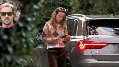 Fotók! Olivia Wilde-ot Harry Styles otthonánál kapták lencsevégre