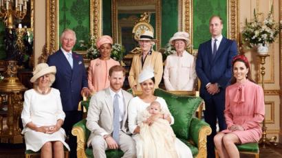 Friss képek Harry herceg kisfiának keresztelőjéről!