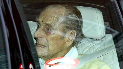 Fülöp herceg elhagyta a kórházat – fotók!