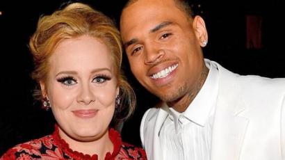 Furcsa páros! Chris Brownnal randizik Adele