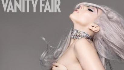 Gaga meztelenül a Vanity Fair lapján