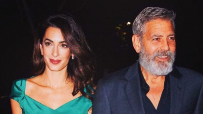 George Clooney elárulta, 4 éves ikrei már két nyelven beszélnek