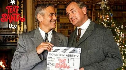 George Clooney lett Downton Abbey ura