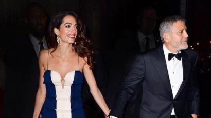George Clooney még mindig leveleket ír feleségének