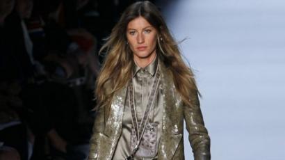 Gisele Bündchen a Givenchy arca lett