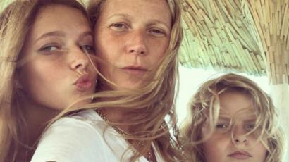 Gwyneth Paltrow gyermekei megszólalásig hasonlítanak a színésznőre