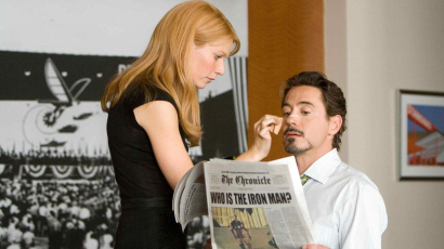 Gwyneth Paltrow ismét Robert Downey Jr.-ral forgat