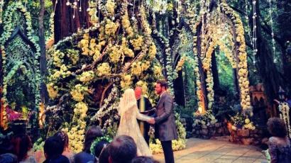 A Gyűrűk ura inspirálta a sztárpár esküvőjét