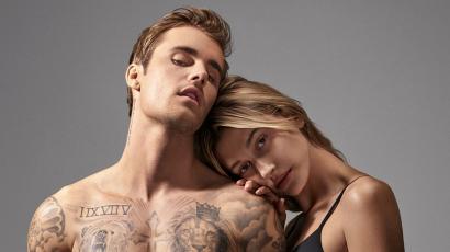 Hailey és Justin Bieber a Calvin Klein új álompárja