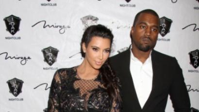 Hamis fotókat akarnak eladni Kim és Kanye kislányáról
