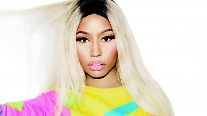 Harmadmagával pózol Nicki Minaj a Paper magazin címlapján
