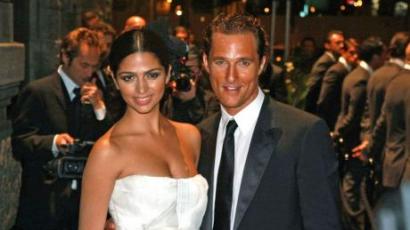 Harmadszorra lesz apa Matthew McConaughey