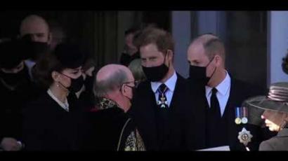 Harry és Vilmos herceg órákig beszélgetett nagyapjuk temetése után