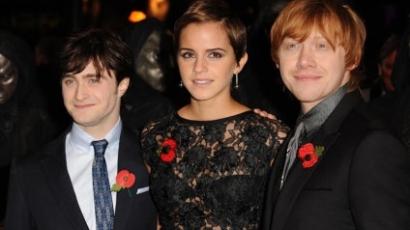Megvolt a Harry Potter-világpremier Londonban