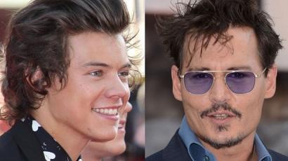 Harry Styles meglopta Johnny Deppet!