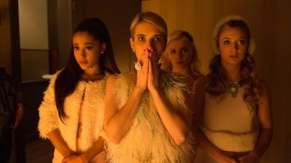 Hátborzongató posztereken pózolnak a Scream Queens szereplői