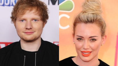 Hilary Duff Ed Sheerannel dolgozik együtt