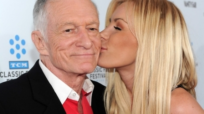 Hugh Hefner és Crystal Harris békében vált el