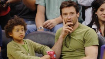 Hugh Jackman fia számon kérte apját