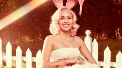 Húsvéti fotósorozattal jelentkezett Miley Cyrus