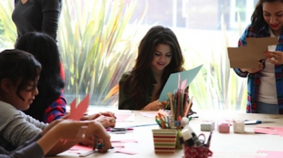 Gyerekekkel töltötte a húsvétot Selena