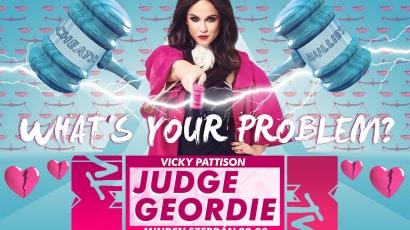 Hűtlen pasik, hazudozó csajok – jön a Judge Geordie!