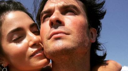 Ian Somerhalder imádattal nyilatkozott feleségéről
