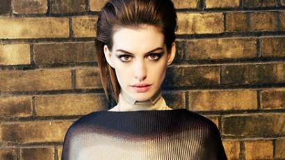 Idegen kocsijába ült Anne Hathaway