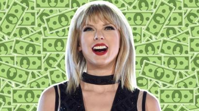 Idén is Taylor Swift a legjobban kereső 30 év alatti híresség! Íme a teljes lista!