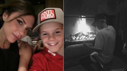 Így énekli Justin Bieber slágerét Beckhamék legkisebb fia