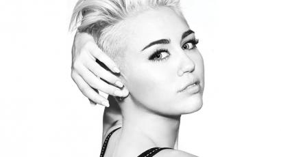 Így fest lilán Miley Cyrus — fotó