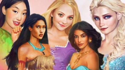 Így festenének a valóságban a Disney-lányok