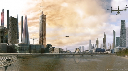 Így fog kinézni London 2025-ben