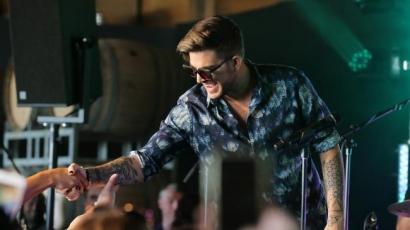 Így hangzik akusztikusan a Ghost Town Adam Lamberttől