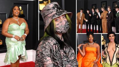 Így jelentek meg a sztárok az idei Grammy-díjátadón