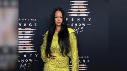 Így jelentek meg a sztárok Rihanna fehérneműbemutatóján