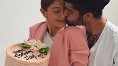 Így köszöntötte Zayn Malik a szülinapos Gigi Hadidot
