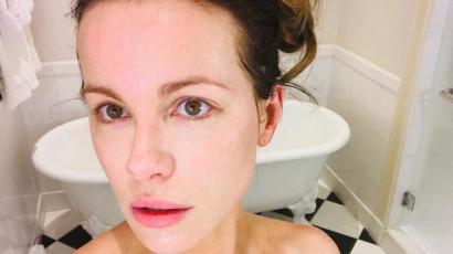 Így néz ki smink nélkül: Kate Beckinsale megmutatta magát