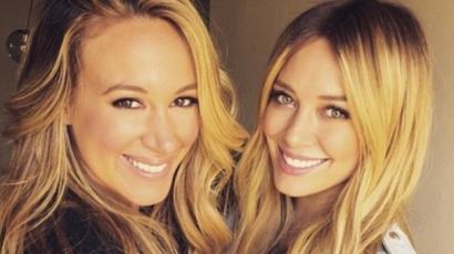 Így nézett ki gyerekként Haylie és Hilary Duff – fotók