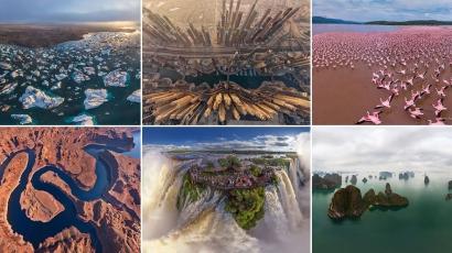 Így néznek ki a világ legszebb helyei madártávlatból – fotók