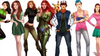 Így néznek ki felnőttként kedvenc rajzfilmfiguráink