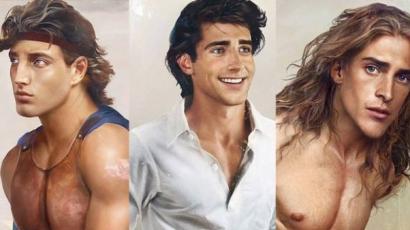 Így néznének ki a Disney-hercegek a valóságban!