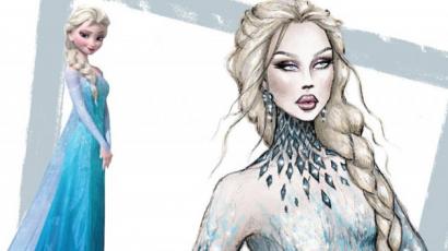 Így néznének ki a Disney hercegnők kifutó modellként