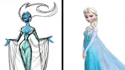 Így néztek ki kedvenc animált karaktereink az első vázlatokon