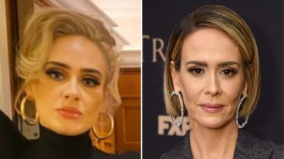 Így reagált Sarah Paulson, amikor Adele-hez hasonlították