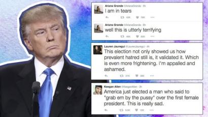 Így reagáltak a celebek Donald Trump győzelmére