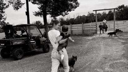 Így telt az augusztus: a családi farmról posztolt fotókat Gigi Hadid
