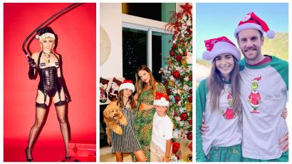 Így töltötték a karácsonyt kedvenc sztárjaink