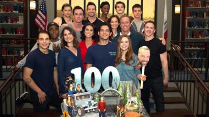 Így ünnepelte a Teen Wolf stábja a 100. epizódot